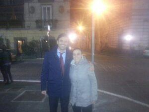 con Valeria Pirone